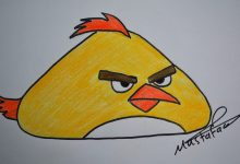 Photo of تعلم رسم الطيور الغاضبة Angry Bird
