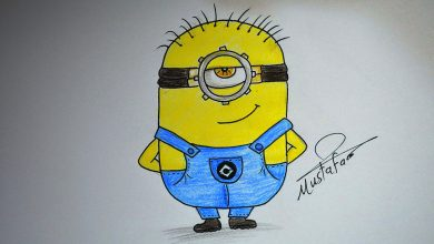 Photo of تعلم رسم رسم مينيونز How to draw minions